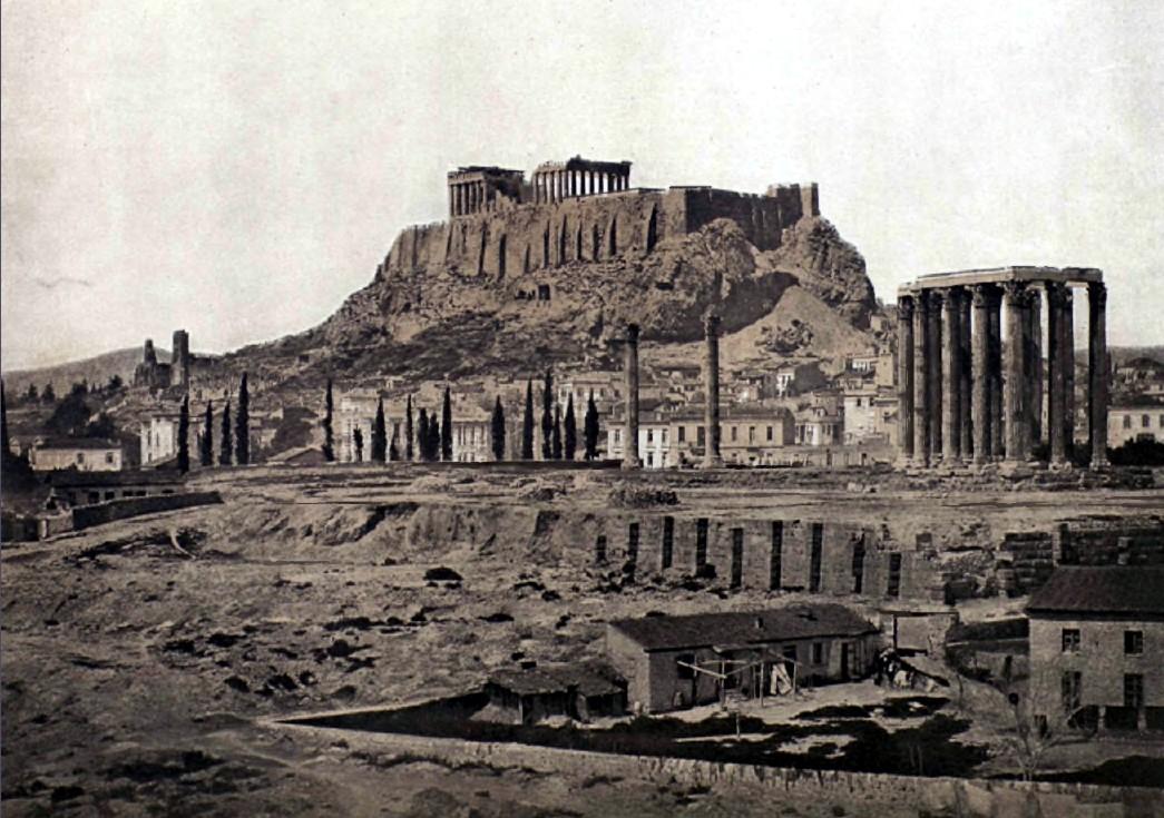 Афины. II. Акрополь и храм Зевса Олимпийского.