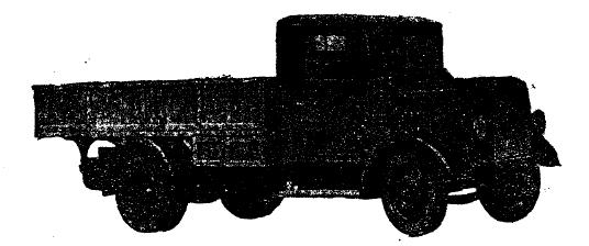 Рис. 23. 5-тонный грузовой автомобиль с закрытой кабиной для шофера.