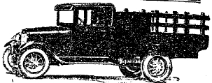 Рис. 25. 1,5 тонный грузовик «Форд А»