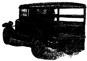 Рис. 31. Автомобиль-линейка «Форд А» (С. Ш.) на 0,5-тонном шасси.
