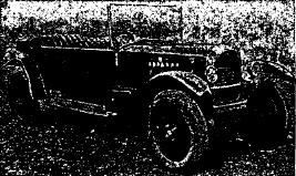 Рис. 32. Легковой 4-местный автомобиль «Нами-1» (Москва). Двигатель с воздушным охлаждением, мощностью: тормозных – 20 л. с., налоговых – 4,5 л. с.