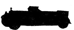 Рис. 40. 6-местиый автомобиль «Мерседес-Бенц»   (Германия) 18/80 л. с.