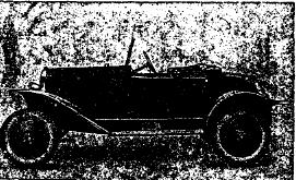 Рис. 35. Легковой 2-х местный автомобиль «Опель» (Германия), 4 л. с.