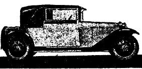 Рис.37.Закрытый 3-хместный автомобиль «Штейер» (Австрия), 6/30 л. с.