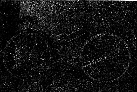 Рис. 5. Складной велосипед системы Жерара.