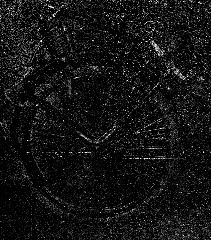 Рис. 6. Велосипед Жерара в сложенном виде.