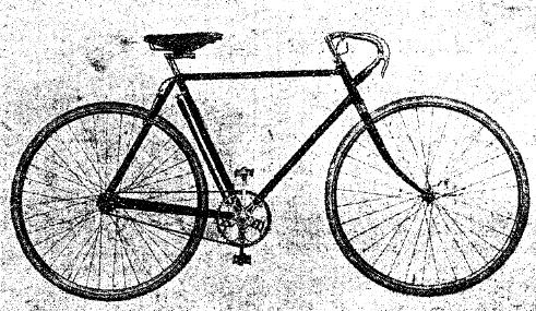 Рис. 1. Современный велосипед.